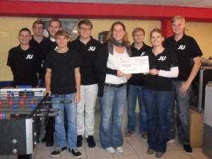 Spendenübergabe GV Rülzheim